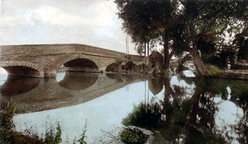 Girtford Bridge around 1920 [Z1306/99]